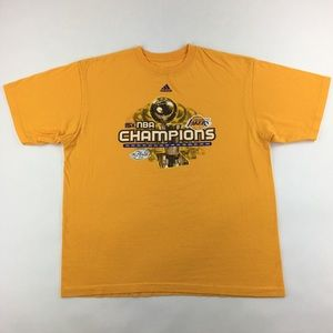 Adidas 2009 NBA Finals Los Angeles Lakers T-Shirt